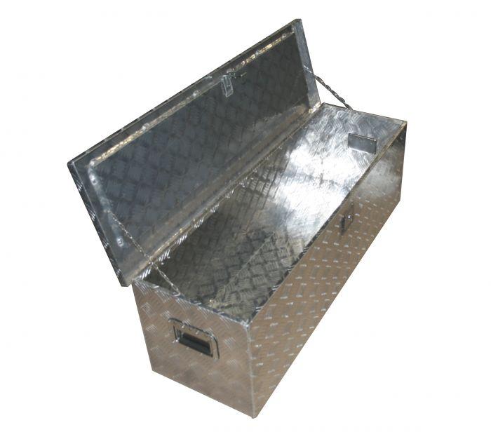 Coffre de rangement  Aluminium - 1240mm