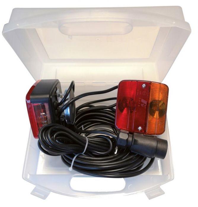Eclairage arrière complet - 7.5m. - support magnétique et valisette