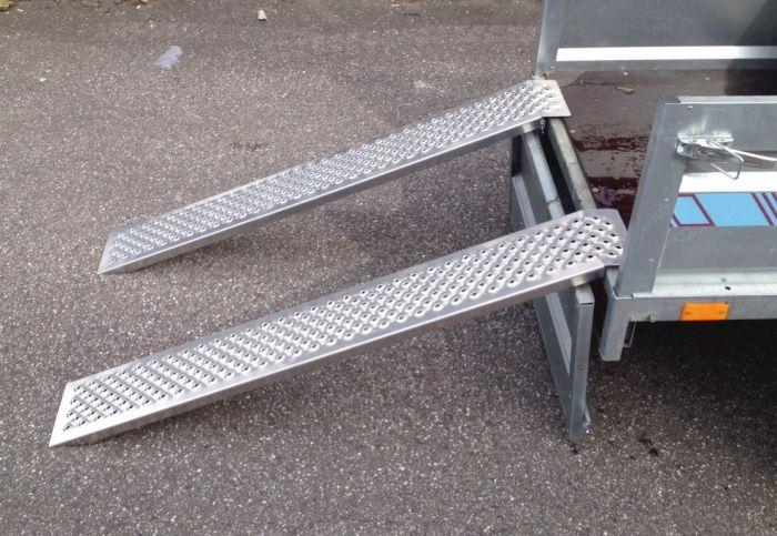 2 Rampes Aluminium 1.50 mètres - 400kg