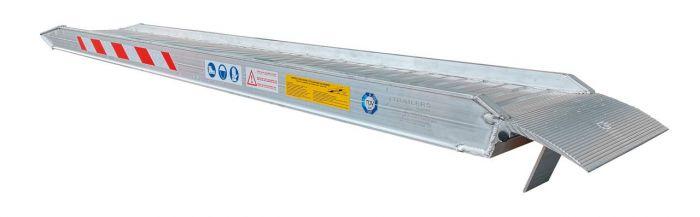 Rampes Aluminium renforcées - 2.5 mètres - 3600kg