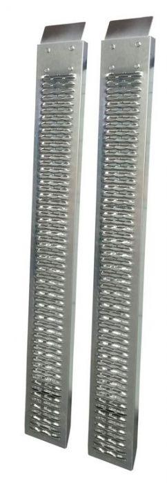 2 Rampes tôle galvanisée 1.9m - 350kg