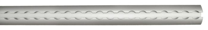 Rail en aluminium AERO - 3 mètres