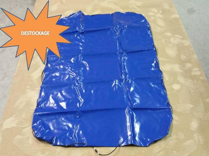 Bâche plate bleue 160 X 115 X 7