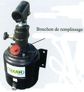 Bouchon de reservoir pour pompe hydraulique SOCAH