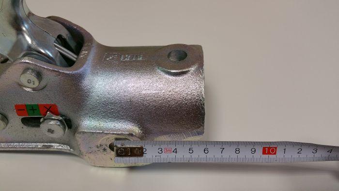 Boitier d'attelage pour tube rond 65 mm - ALBE EM 350 R - 3500kg