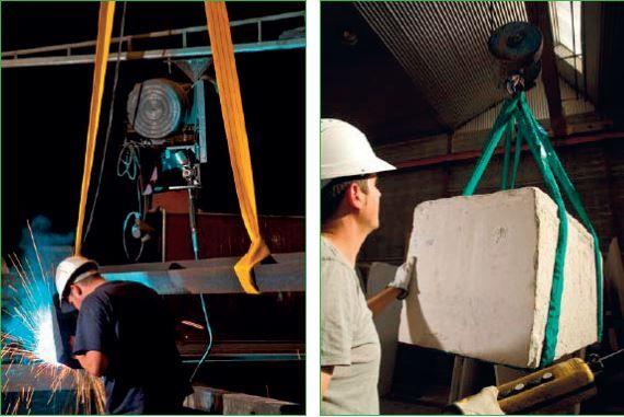 Elingue 2 mètres plates largeur 60 mm - 2 tonnes