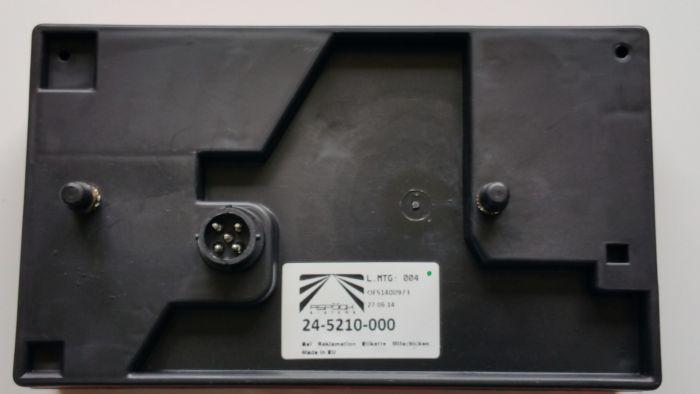 Feu arrière droit - Multipoint I - Aspock 5146