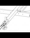 Broche de basculement pour remorque ERDE - Diamètre 12 mm
