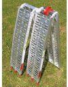 2 Rampes Aluminium pliables  2.27 mètres - 450kg