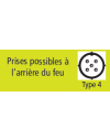 FEU ARRIERE GAUCHE - DAFA - 6 FONCTIONS - REF 6785
